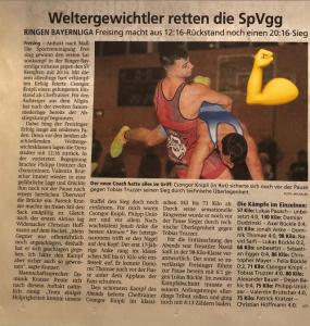 Zeitungsartikel gegen Kempten am 11.09.2021